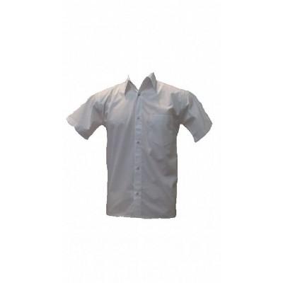 Camisa Manga Curta  Poliéster e Algodão